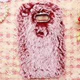 LG G6/G6Pro/G6Plus Art Case, Handmade Fluffy Villi Wool