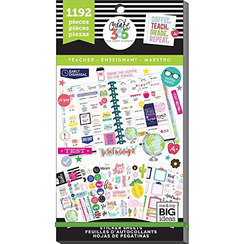 me & my BIG ideas PPSV-23-2048 Adesivi, Multicolore, Medium