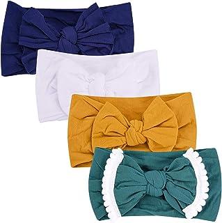 Nylon Baby Headband, Baby Girl Bows, Hair Accessories for Newborn Toddler Girls