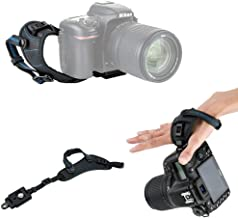 JJC Deluxe DSLR Camera Hand Strap with Quick Release Plate for Canon EOS 90D 80D 70D 77D 60D 6D Mark II 7D Mark II 5D Mark IV III 5Ds R 1Dx Mark II EOS Rebel T7i T6i T6s T5i T7 T6 SL3 SL2 & More DSLR