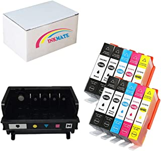 INKMATE Re-Manufactured Ink Printhead Replacement for HP 564 (5-Slot) CB326-30002 CN642A and Ink Cartridge for HP PhotoSmart 7510 7520 C5370 C6340 C6375 2BK/2PBK/2C/2M/2Y, 10Pack