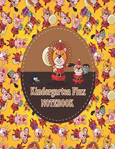 Kindergarten Flux Notebook AJCVZUXWQY: Composition Notebook, Wide Ruled Comp Book, Lined Paper, Grades K-2 Writing Workbook, Notebook Perfect for Home School Supplies, 100 Pages