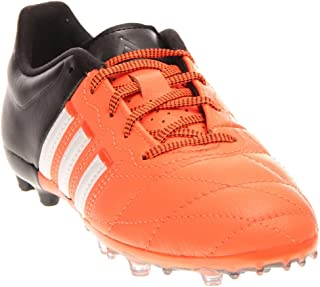 adidas Mens Ace 15.1 FG/AG J Leather Athletic & Sneakers Orange