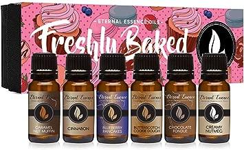 Freshly Baked – Gift Set of 6 Premium Fragrance Oils – Blueberry Pancakes,..