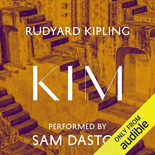 Kim audiobook cover art
