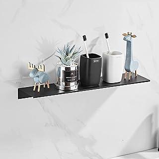 CGLOVEWYL étagère de Douche Accessoires de Salle de Bain Espace Aluminium Noir / Blanc étagères de Salle de Bain étagère M...