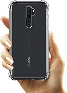 Oppo A9 (2020) / Oppo A5 (2020) / Oppo A11 Case Cover Air Cushion Soft TPU Silicone Clear Transparent Cover Airbag Shockpr...