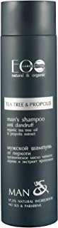 EO Laboratorie natural & organic EO Laboratorie Organic Man's shampoo anti-dandruff tea tree and propolis SLS, Sulfate and...