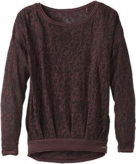 Prana womens Prana Prairie Grove Sweater Long Sleeve