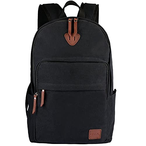 22a7826ff6 OXA Canvas Backpack for Laptops Up to 15.6 Inch