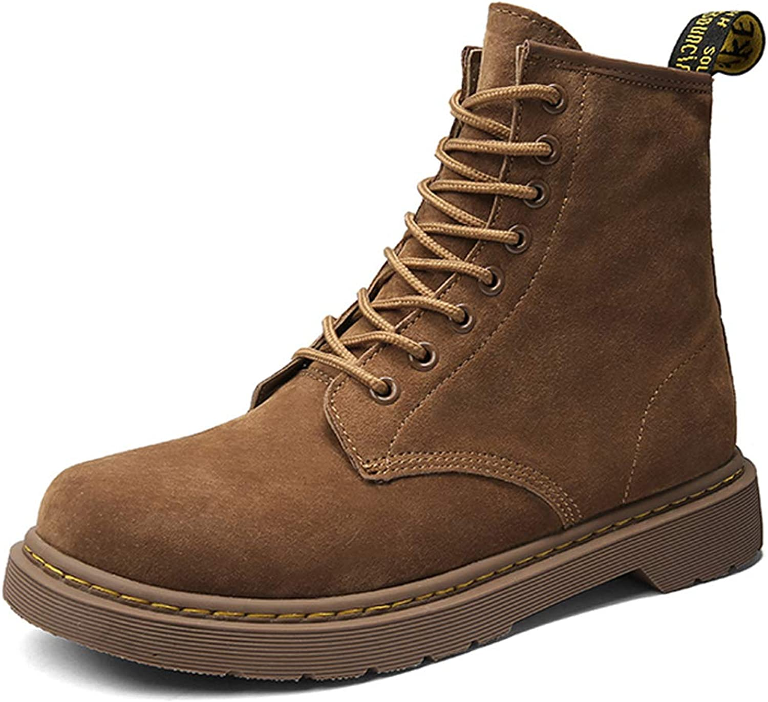 Mens Work Boots High Top Lace-Up Waterproof Martin M Baltimore Mall Branded goods