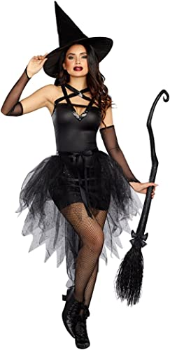 Dreamgirl 10663Wicked Witch Costume, Petite