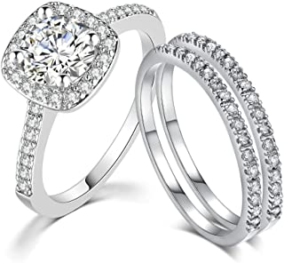 Pretty 925 Silver Butterfly Women Wedding AAA Zircon White Sapphire Jewelry Ring