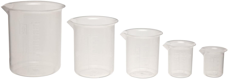 Kartell 326495-2000 Polypropylene Low Beaker High quality Graduated Form Superlatite Lab