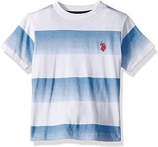 Boys' Short Sleeve Printed Ombre Stripe T-Shirt