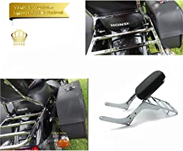 motorcycle sissy bars and backrests