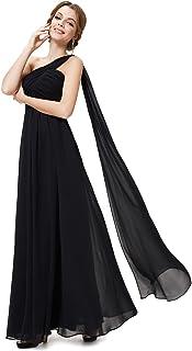 ab7392236bc Ever-Pretty HE09816 Robe de Soirée Longue Seule-épaule Femme