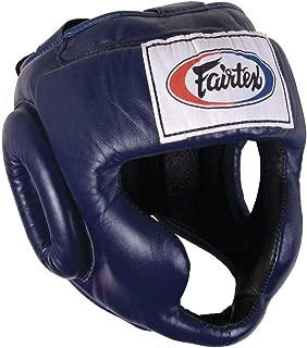 Fairtex Full Coverage Headgear, Blue, Medium