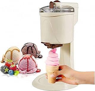 HUATINGRHCH Sorbetière électrique,Machine à Glace Sorbetière Opération Simple, Machine à crème glacée sans BPA, Yaourt gla...