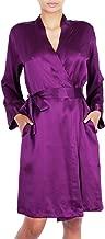 OSCAR ROSSA Women's Luxury Silk Sleepwear 100% Silk Robe Kimono