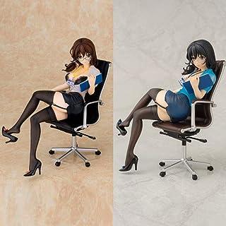 LF-YGJ Estatua de Anime 17cm Daiki Kogyo Kougyo Hishoka Hatsumi Yuki Personaje de Anime PVC Figura de acción Adultos