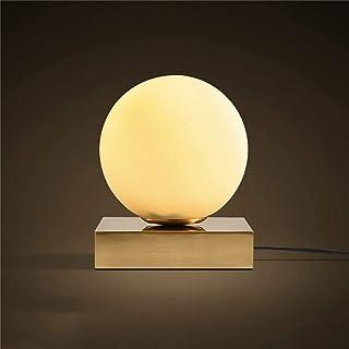 Lampes de Bureau Nordique Moderne Minimaliste Lampe de Table en Verre Lampe de Chevet Salon étude Bureau Chambre décoratio...