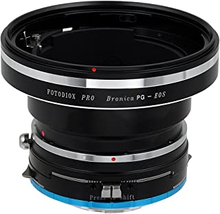 Fotodiox Pro Lens Mount Shift Adapter Bronica GS-1 (PG) Mount Lenses to Fujifilm X-Series Mirrorless Camera Adapter - fits X-Mount Camera Bodies Such as X-Pro1, X-E1, X-M1, X-A1, X-E2, X-T1