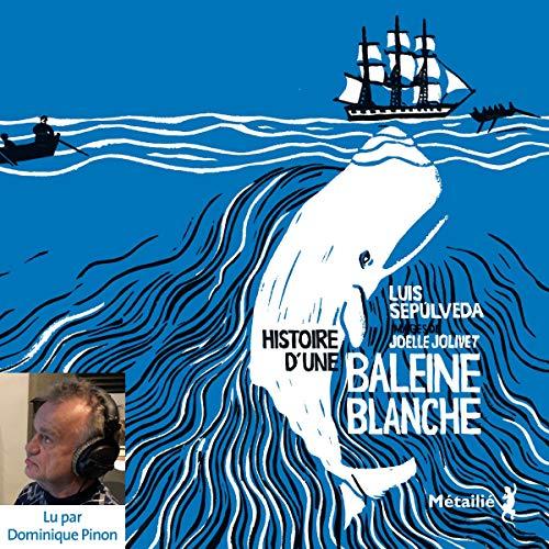 Page de couverture de Histoire d'une baleine blanche