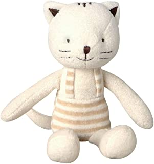 [Organic Shop] 100% Organic Cotton Baby Stuffed Animal Doll (Cat Doll)