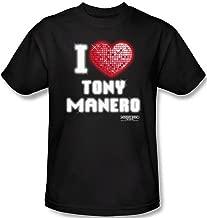 Saturday Night Fever - I Love Tony Manero Men's T-Shirt
