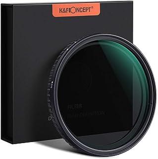 K&F Concept - Filtro Variable ND2-ND32 MRC 18 Capas para Objetivo 62mm NO X Spot con Funda (5 Pasos)