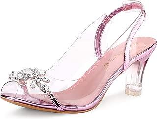 Best pink heels with rhinestones Reviews