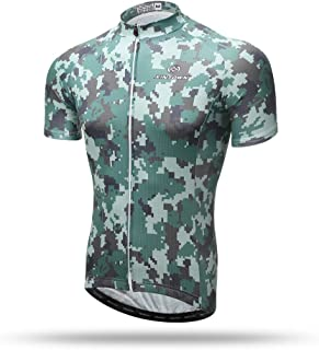 Xintow Mens Cycling Jersey Quick-Dry Short Sleeve Bicycle Cycle Shirts Road Bike Clothing Suit X311