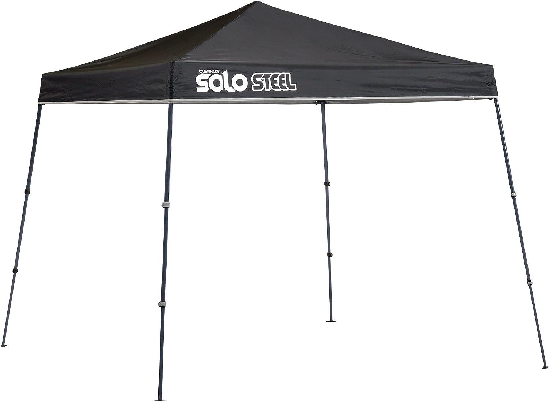 Quik Shade 9' x Solo Industry No. 1 Steel of Feet Square Leg 50 Oklahoma City Mall Slant