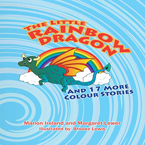 The Little Rainbow Dragon audiobook cover art