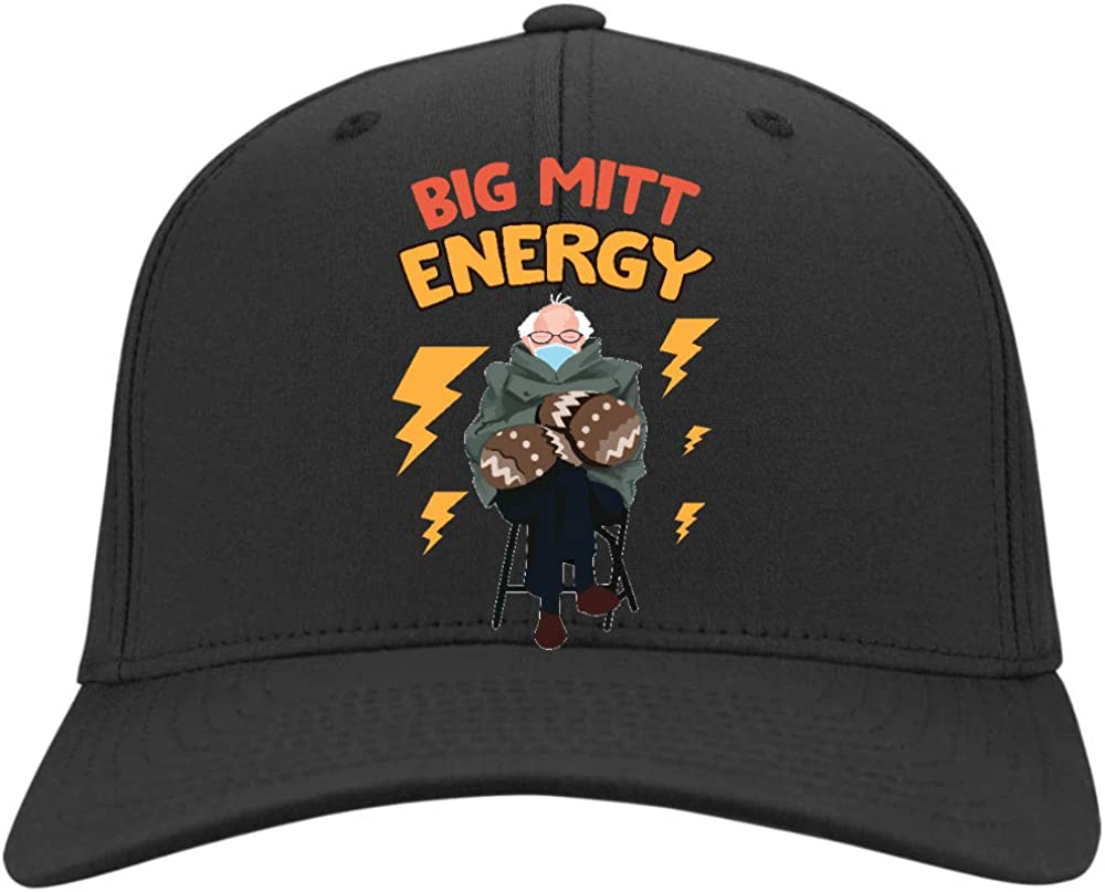 Osborna Arrt Bernie Mittens Big Mitt Energy Hat,Twill Cap