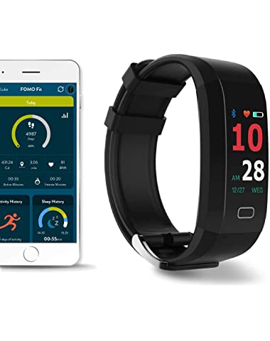 FOMO Fit GPS Fitness Watch Designed in California. Built-in GPS and Multi-Touch Color Screen.