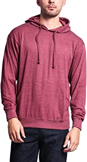 G-Style USA Cross-Dyed Heather Jersey Pullover Hoodie