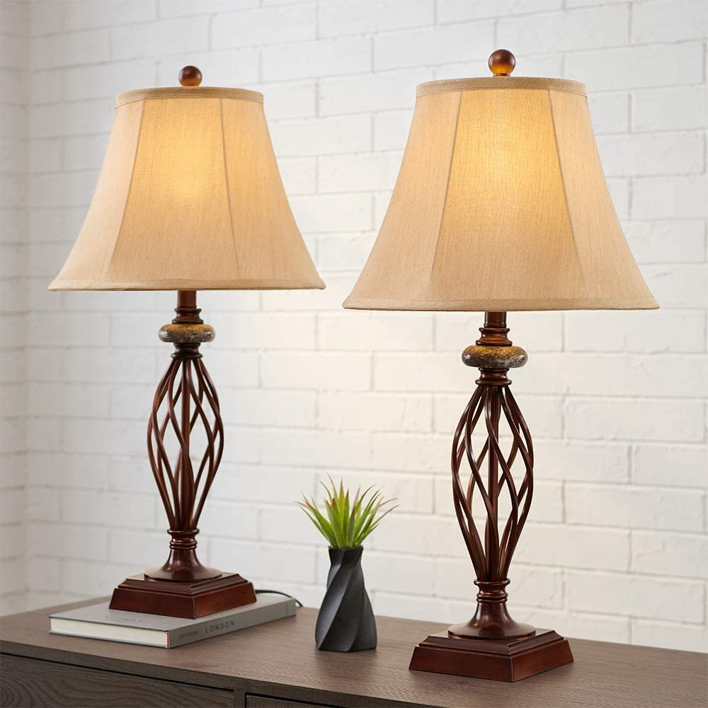 Table Lamp Set of 2 for Bedroom Ro or Living Max 82% OFF High Room in. 27.5 Popular popular