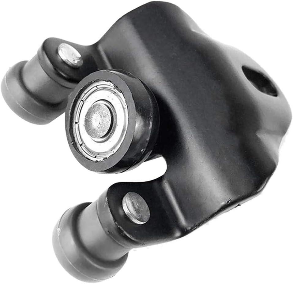 Lato Destro Lato del Portello Scorrevole Top Medio Rullo Inferiore Runner Sportello dauto Rullo di Guida Compatibile for Ford Transit MK7 Color : Black MK6