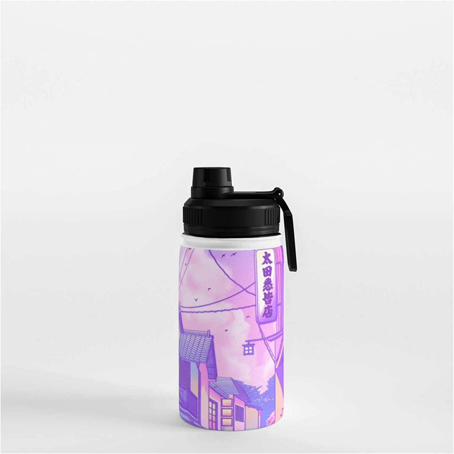 Society6 City Pop Kyoto by Detroit Mall Surudenise on oz - 35 12 Shipping included Bottle Water
