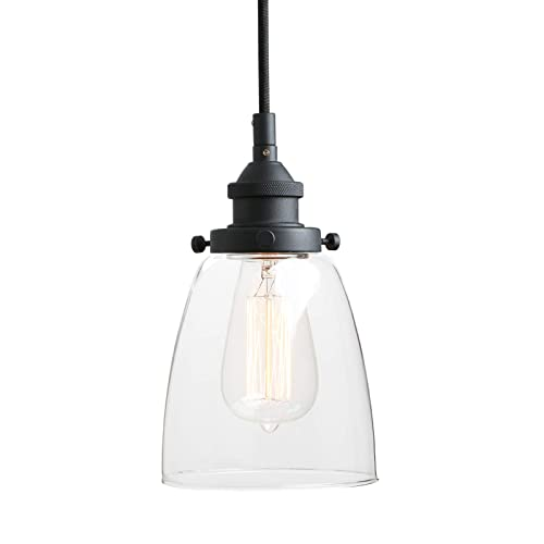 Country style kitchen lighting Farmer Style Pathson Retro Pendant Lighting Industrial Small Hanging Light With Clear Glass And Textile Cord Beauty Lighting Decoration Ideas Pendant Lighting Kitchen Country Style Amazoncom