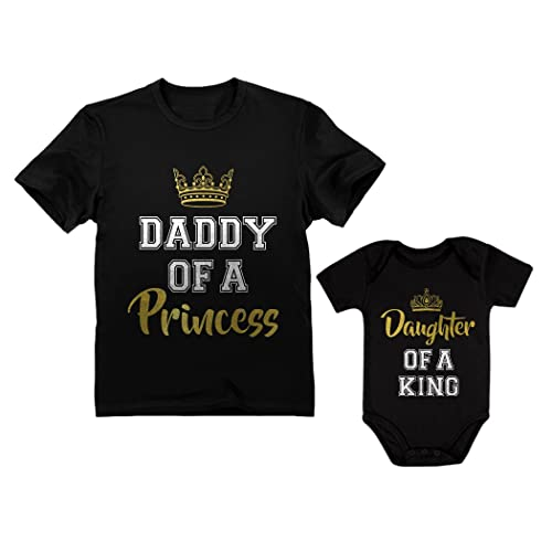 150cc296 Father & Daughter Matching Set Gift for Dad & Baby Girl Bodysuit ...