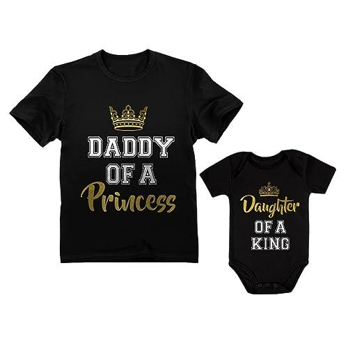 8e01536b Father & Daughter Matching Set Gift for Dad & Baby Girl Bodysuit & Men's  Shirt