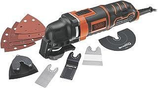 BLACK+DECKER 300 W Multi-Oscillating Power Tool with Accessory Kit, MT300KA-GB