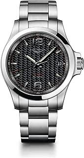 [ロンジン] 腕時計 コンクエスト V.H.P. クォーツ パーペチュアルカレンダー L3.716.4.66.6 メンズ 正規輸入品 シルバー