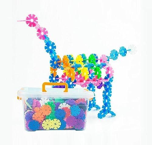 Größe dicke Schneeflocke Stücke zusammengebaut in die Bausteine frühen Kindheit Bildung Baby Baby Puzzle frühen Kindheit Bildung Spielzeug