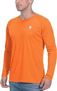 Golf Shirts for Men Long Sleeve - UPF 50+ Sun Protection Rash Guard Tops Outdoor