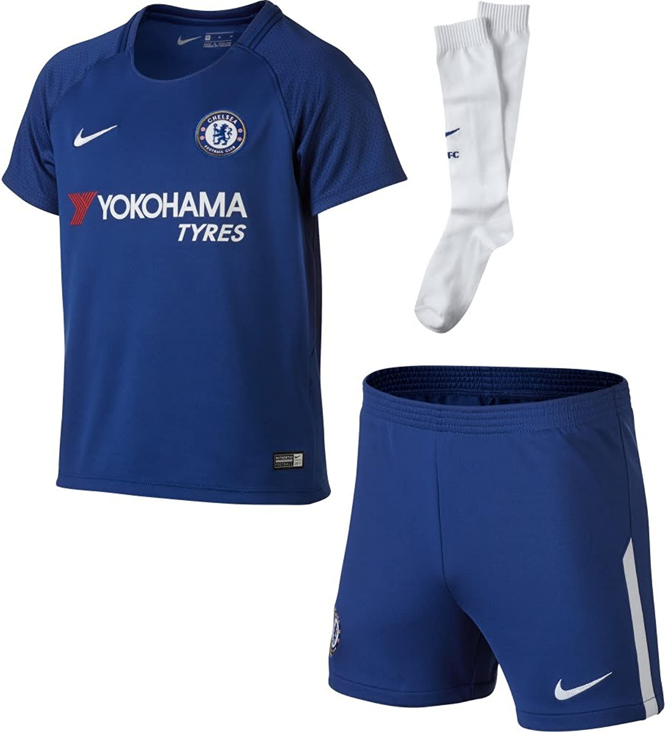 20172018 Chelsea Home Nike Little Boys Mini Kit