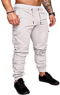 Surprise S Men Sportswear Tracksuit Bottoms Skinny Sweatpants Trousers Black Gyms Jogger Track Pants